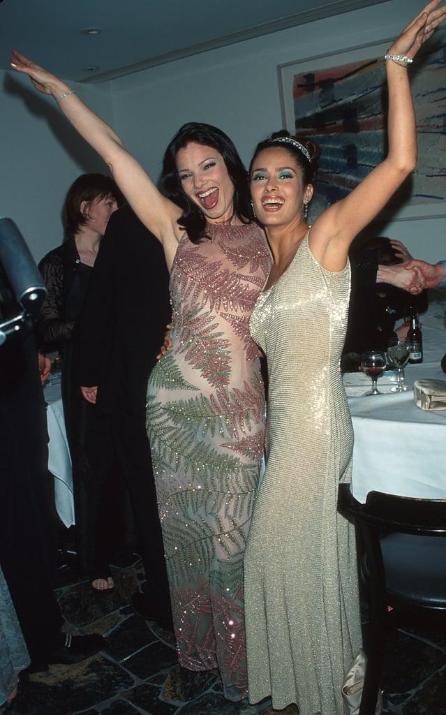 Fran Drescher and Salma Hayek Struck a Pose