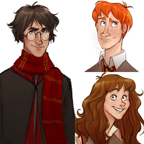Harry Potter Fan Art and Illustrations | POPSUGAR Tech