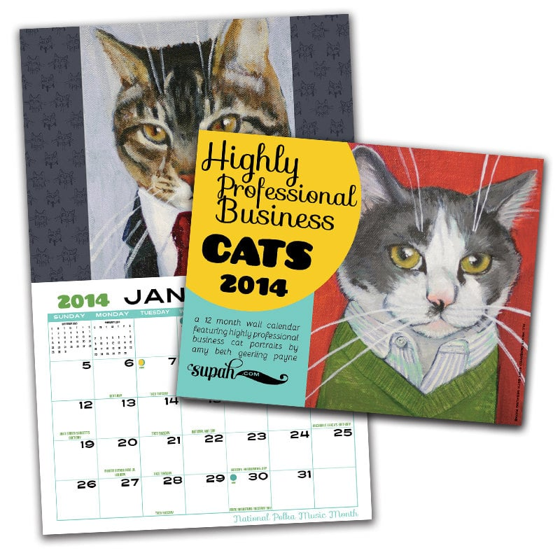 Business Cats Calendar