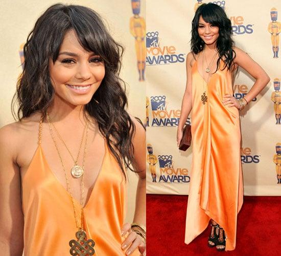 Photo of Vanessa Hudgens at 2009 MTV Music Awards
