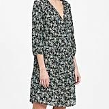 Print Tiered Swing Dress