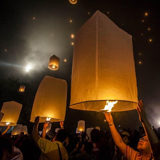 Vesak Day in Yogyakarta, Indonesia 2014   Pictures