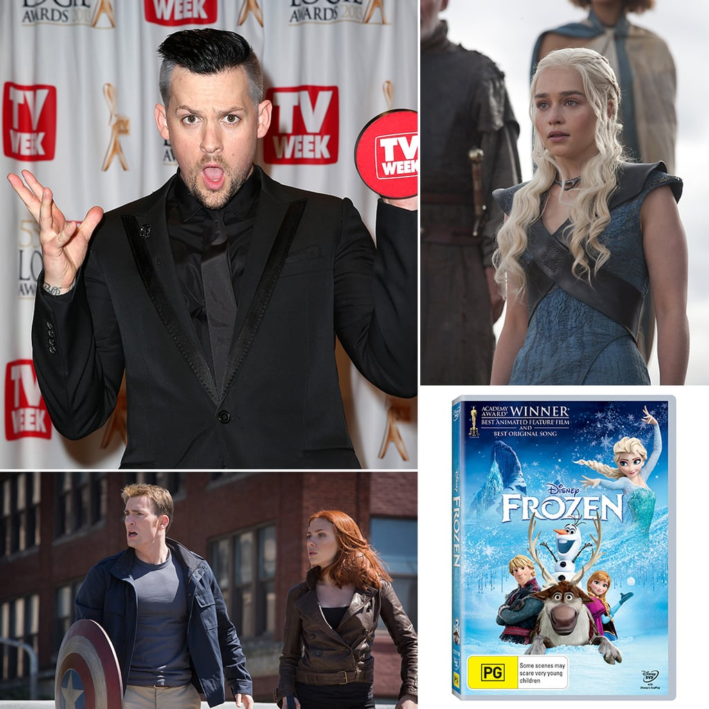 New Movies, DVDs, TV, Books Released in Australia April 2014
