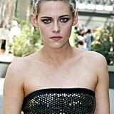 Kristen Stewart's Silver Crop in 2017