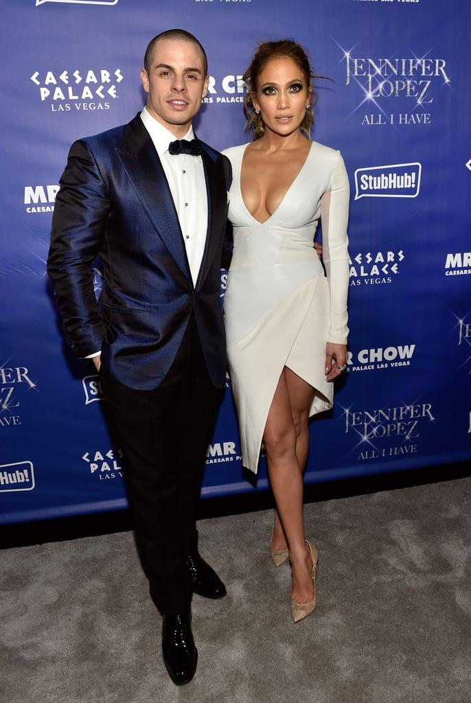 casper smart and jennifer lopez. Jennifer Lopez And Casper Smart Show A Little PDA At The Launch Of Her Las Vegas S