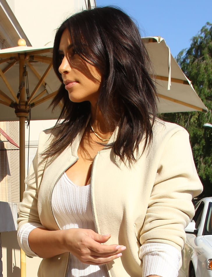 new style of hair 2014 pictures of s new hair style popsugar 6648 | Pictures Kim Kardashian New Hair Style