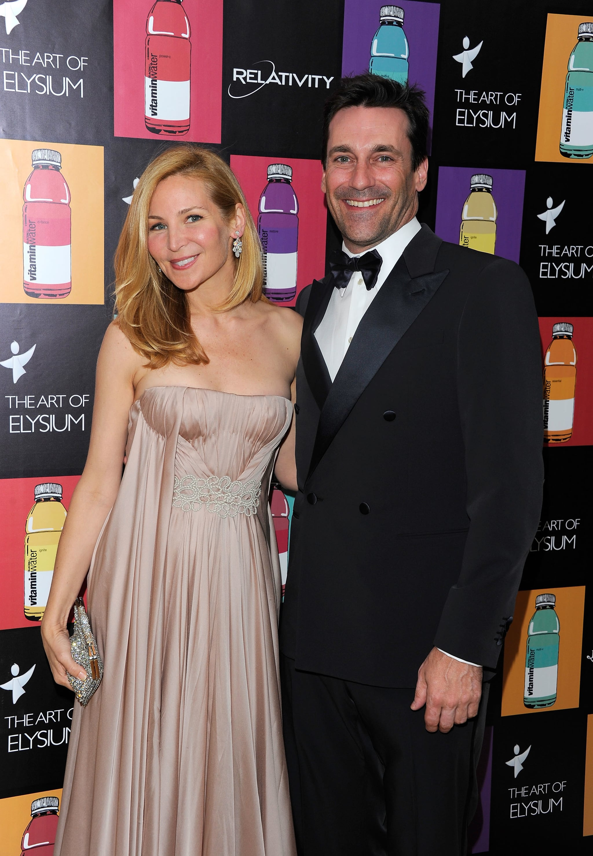 Jon Hamm and Jennifer Westfeldt in 2011