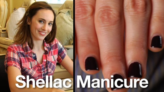 Review of CND's Shellac Manicure