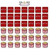 Netflix Movie Night Planner Stickers