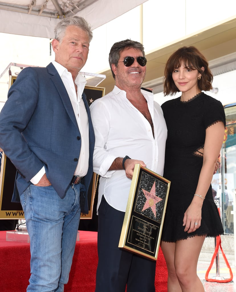 David Foster, Simon Cowell, and Katharine McPhee