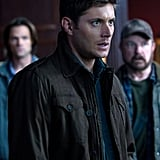 Jensen Ackles as Dean Winchester on Supernatural.  Photo courtesy of The CW