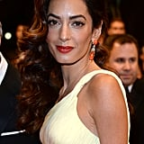Amal Clooney channeled movie star glamour on the red carpet for the Money Monster premiere.