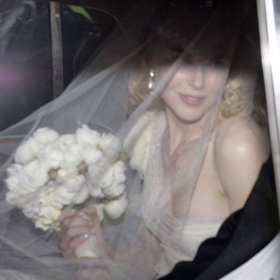 Nicole Kidman arrived at her Sydney ceremony to marry Keith Urban in ...
