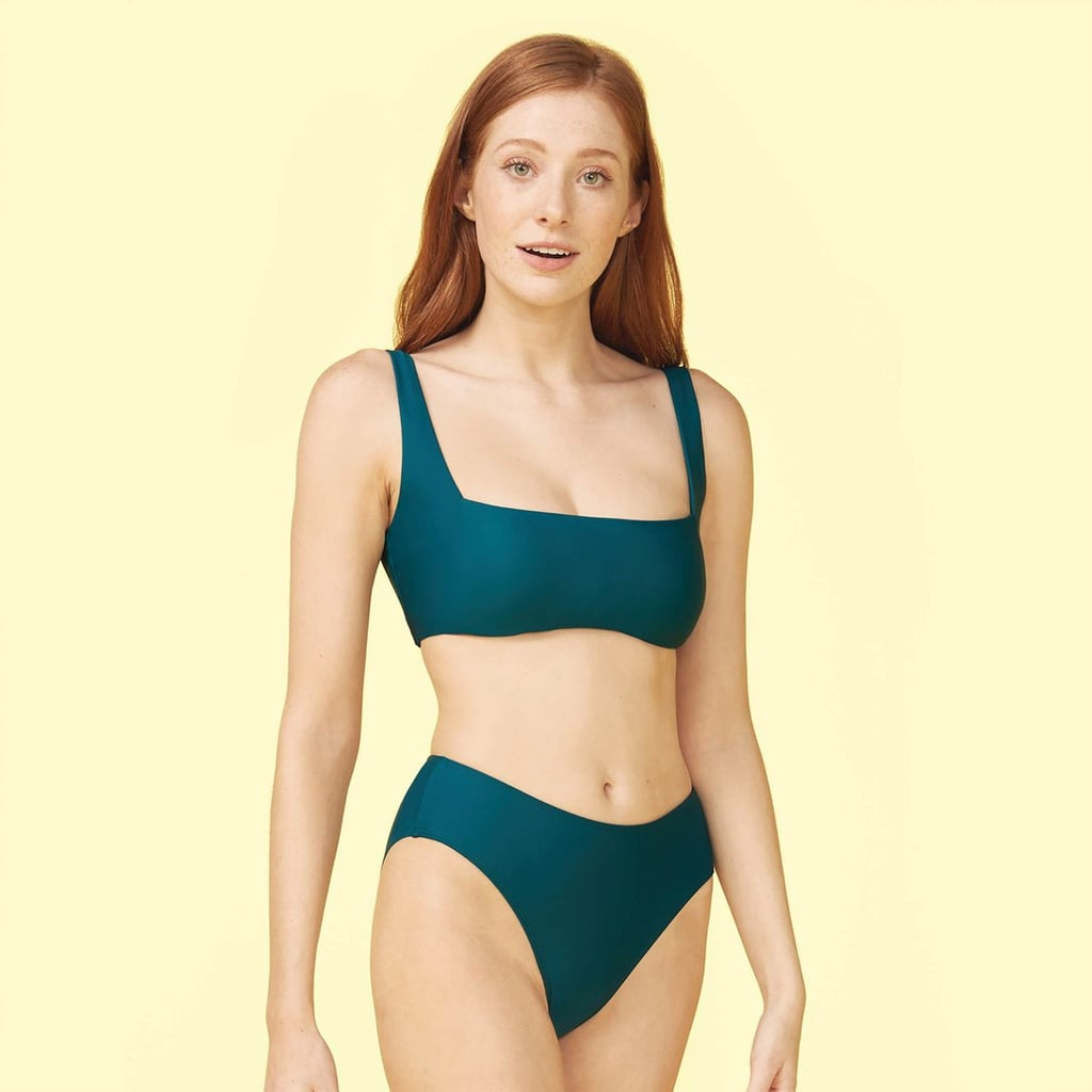 Summersalt The High Leg Mid Rise Bikini Bottom