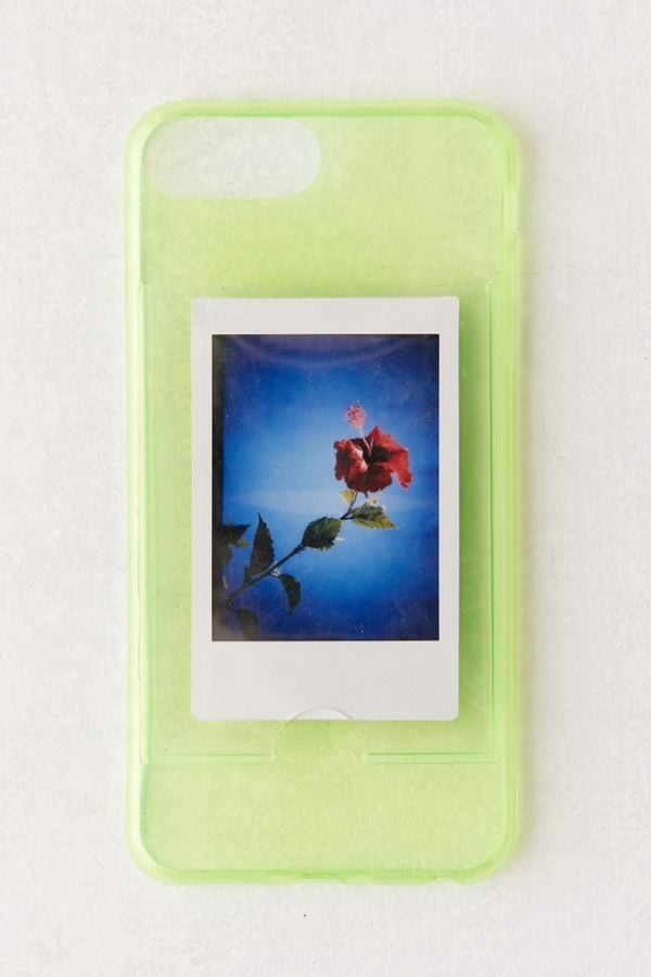Neon Instax Mini Picture Frame iPhone Case