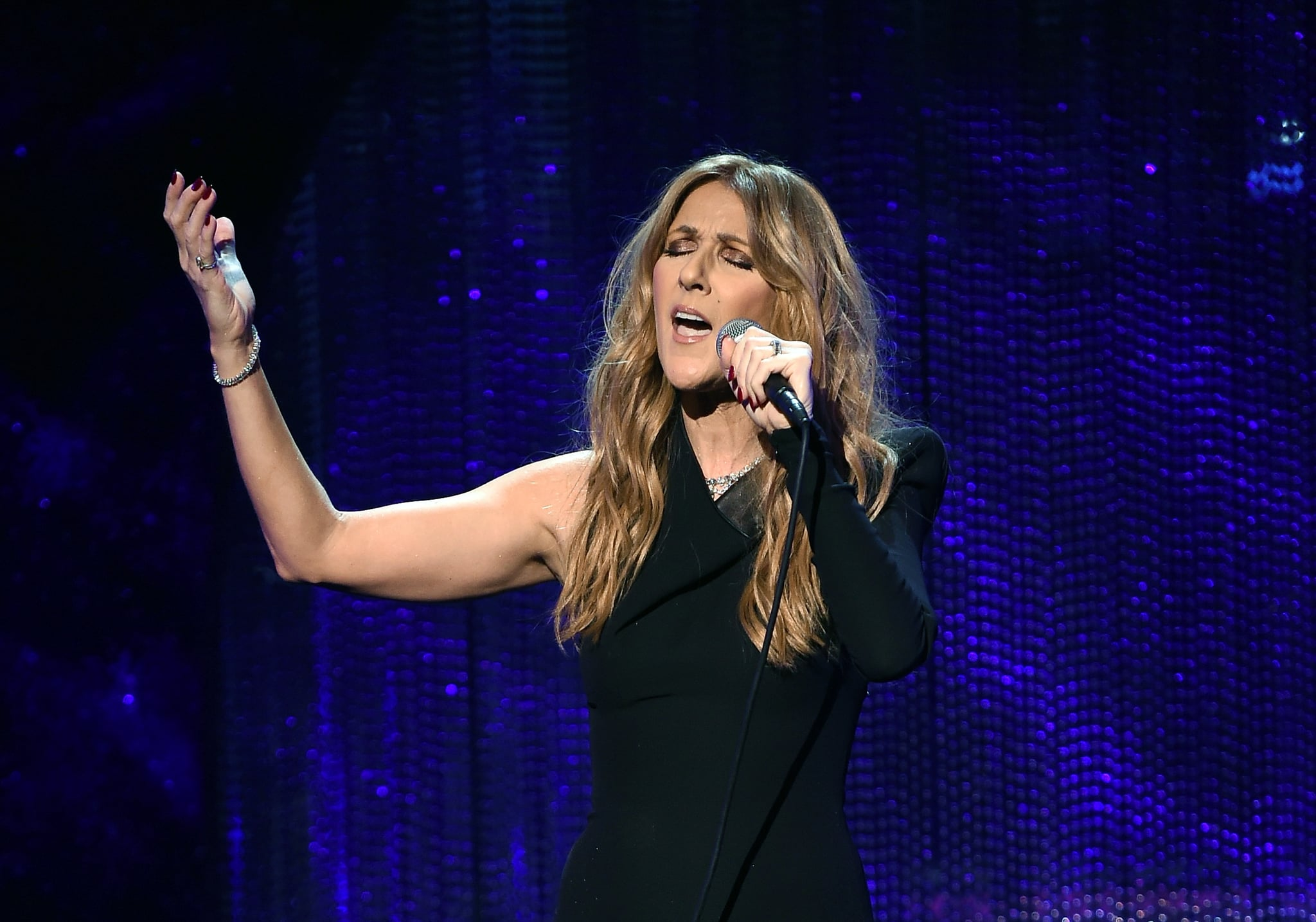 LAS VEGAS, NV - DECEMBER 02:  Singer Celine Dion performs during