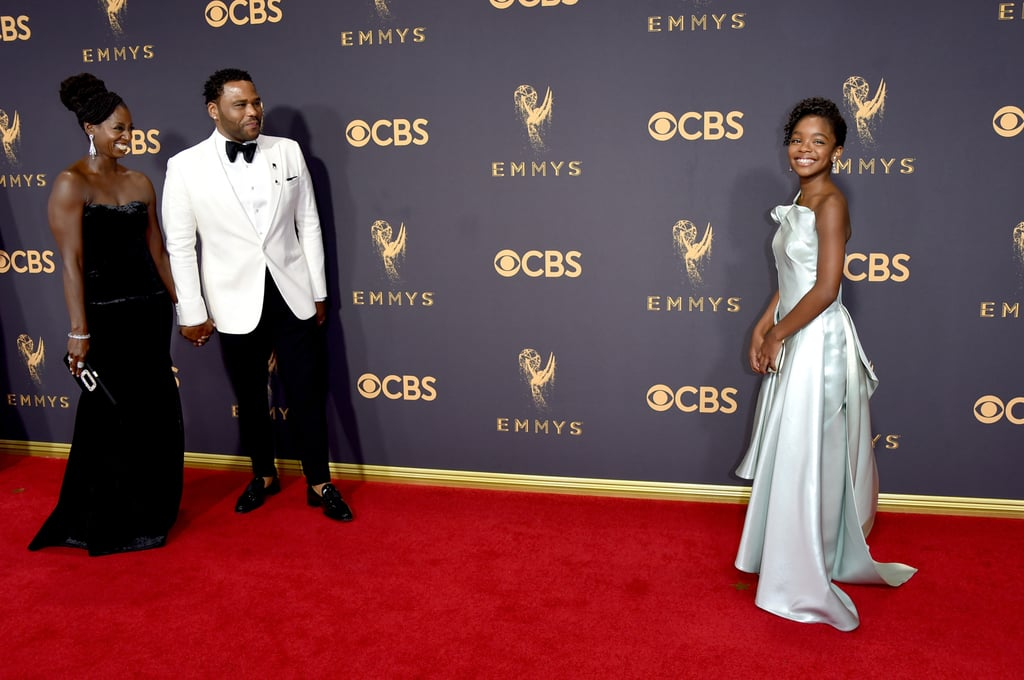 Alvina Stewart, Anthony Anderson, and Marsai Martin