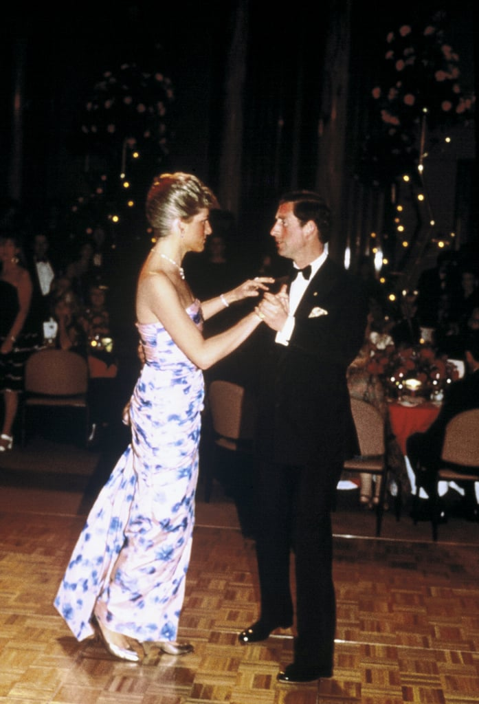 The royals took centre stage on the dance floor in Melbourne during an event on their 1988 tour of Australia.