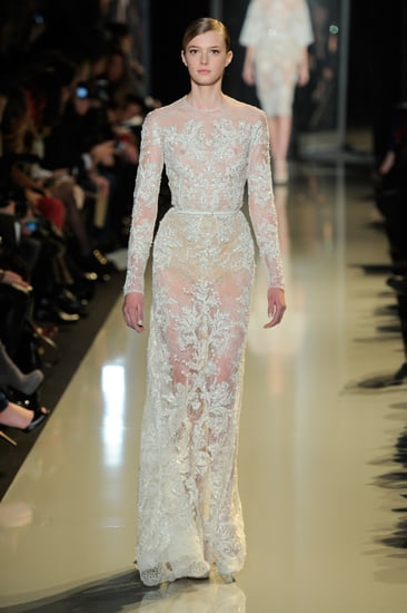 Elie saab couture spring 2013 runway popsugar fashion for What s a couture pop