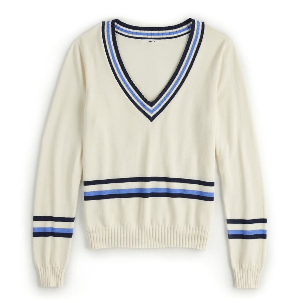 POPSUGAR Collegiate Sweater