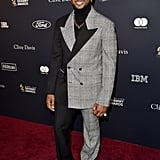 Usher at Clive Davis's 2020 Pre-Grammy Gala in LA