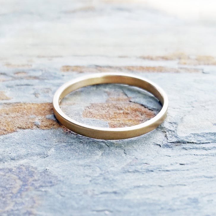 best wedding bands from etsy popsugar fashion - Best Wedding Ring