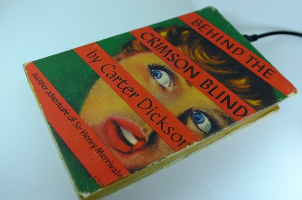 Behind the Crimson Blind ($189) contains a lot more than just a juicy story.
