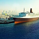 Queen Elizabeth II Cruise Ship Dubai Pictures