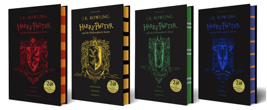 Harry Potter Fans, You'll Love the Theme of These 20th Anniversary Book Covers!