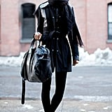 Bundled in black.