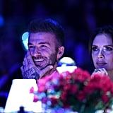 David and Victoria Beckham British Fashion Awards 2018
