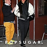 Rihanna grabbed dinner in NYC on Monday night.