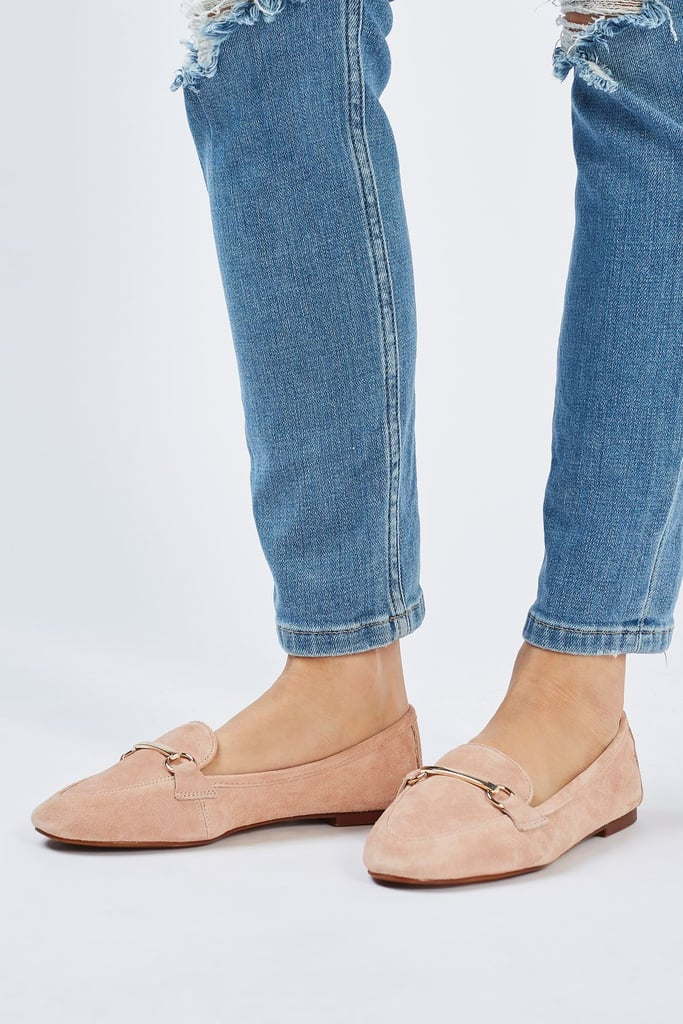 Topshop Libby Leather Softy Loafers