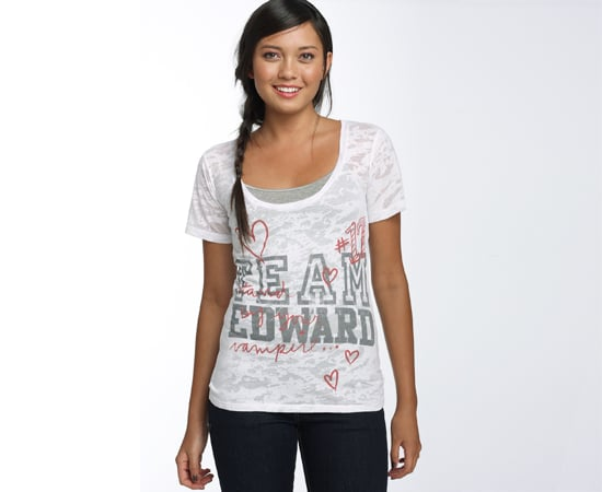 'Team Edward' Boyfriend T-Shirt, $30