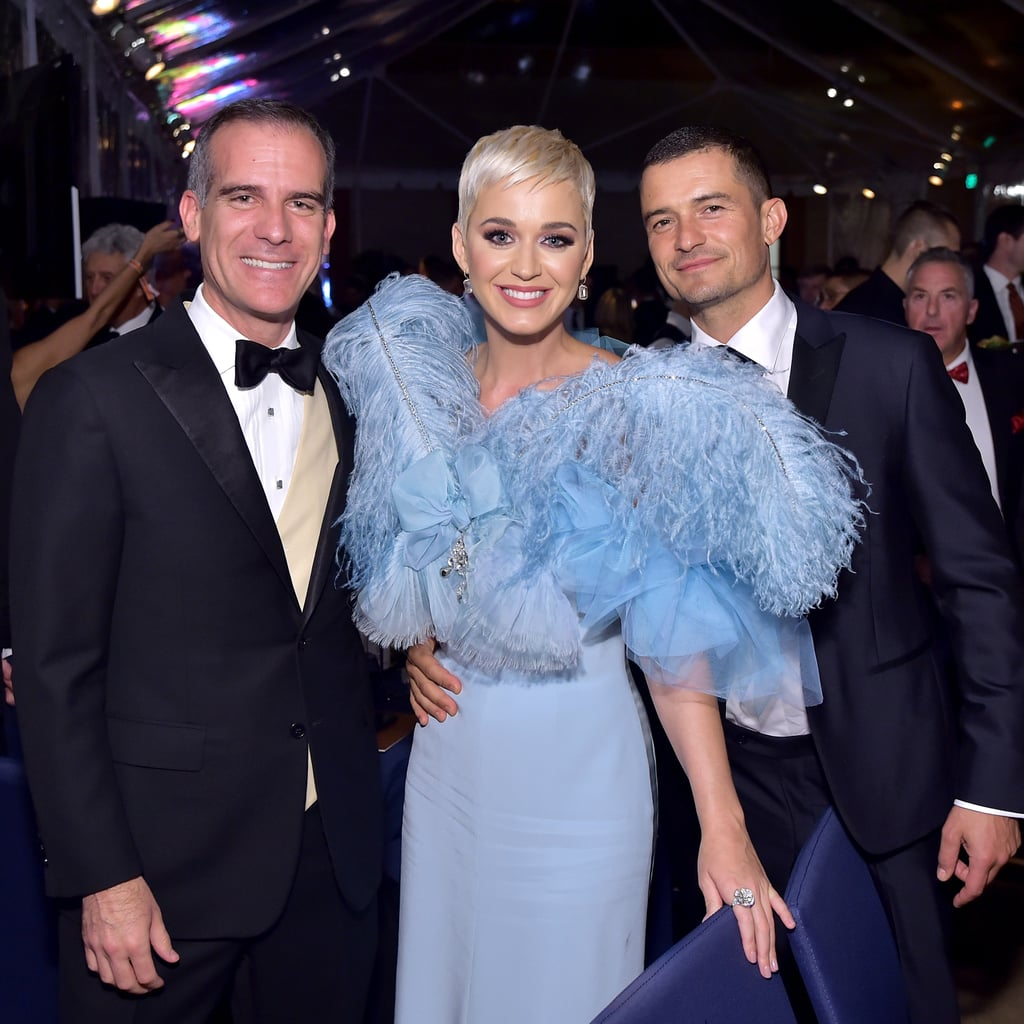 October 2018: Katy and Orlando Step Out For Another Gala