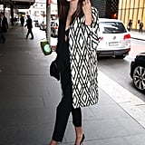 ac126276a0c Miranda Kerr Goes to a Meeting at David Jones ...