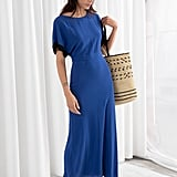 & Other Stories Short Sleeve Maxi Dress