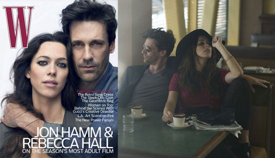 Interview From The Town's Jon Hamm and Rebecca Hall in W 2010-07-14 00:30:21