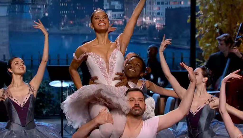 Misty Copeland Brought Ballet to the Jimmy Kimmel Show