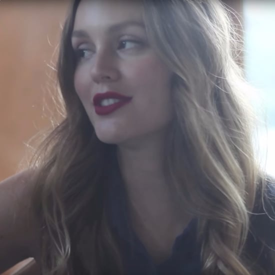 "Leighton Meester Covers ""Blue Christmas"" 