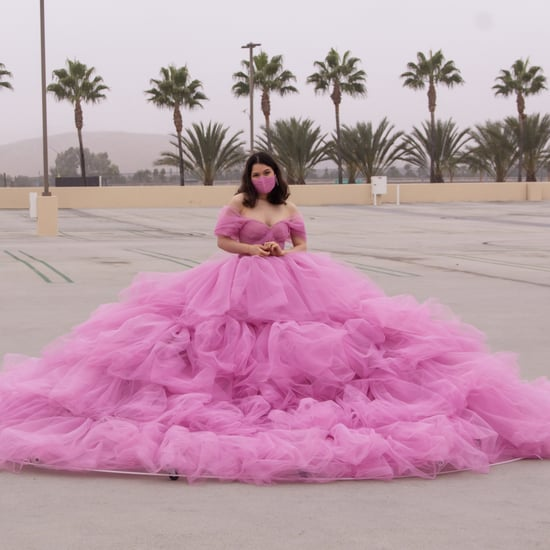 How Shay Rose Made Her 12-Foot Pink Social-Distancing Dress