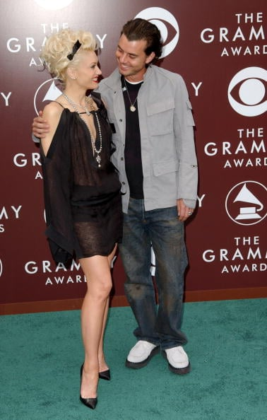 Gwen Stefani and Gavin Rossdale shared a look of love at the LA Grammys in February 2005.