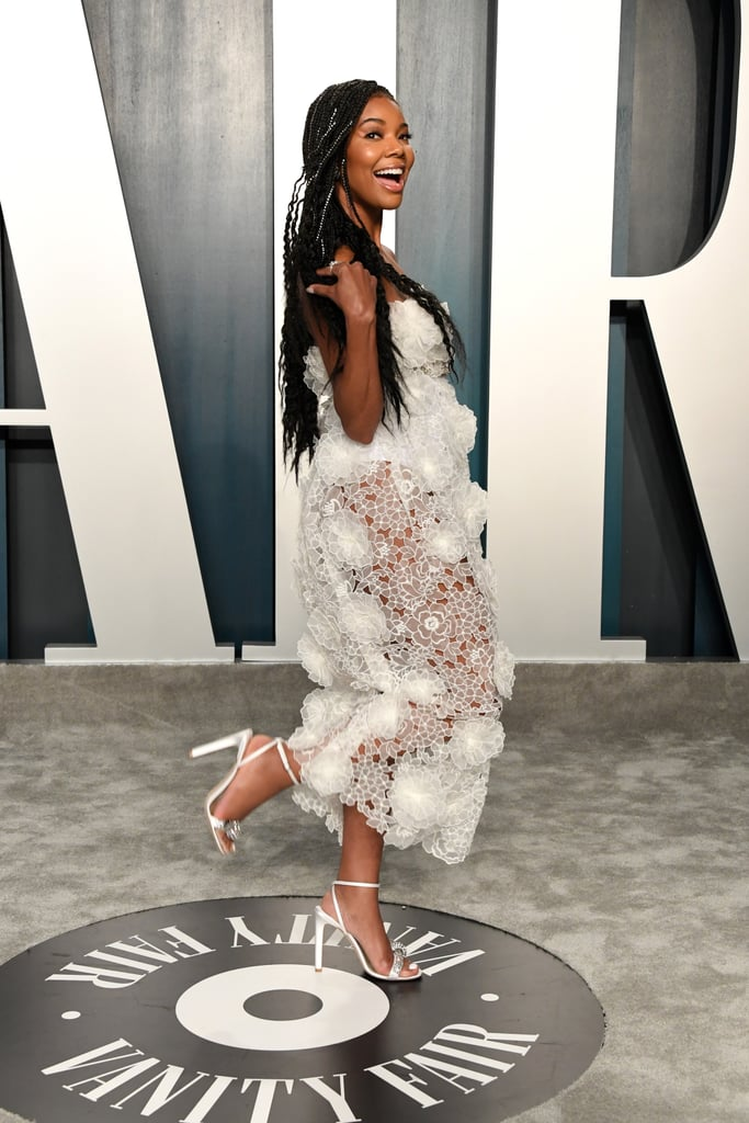 Gabrielle Union at the Vanity Fair Oscars Afterparty 2020