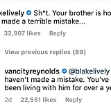 Ryan Reynolds Trolls Blake Lively on Instagram June 2018