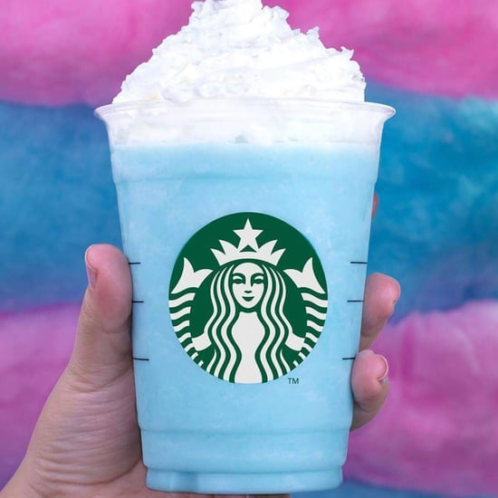 Starbucks Cotton Candy and Bubblegum Frappuccinos in Mexico
