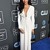 Laura Harrier at Critics' Choice Awards