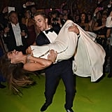 Derek Hough dipped Sofia Vergara at the HBO bash after the Emmys.