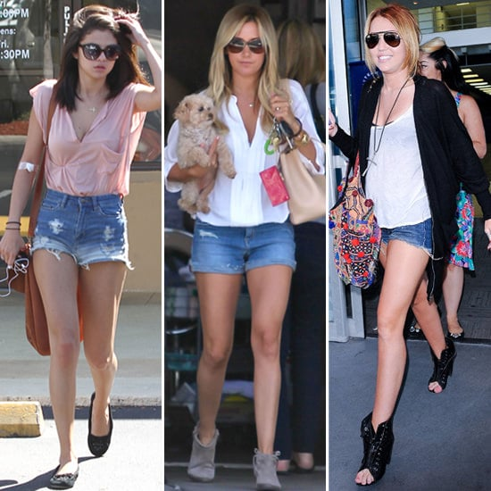 The Denim Short — 16 Celebs Show How to Work It For Day and Night