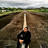"Ludacris shared an inspirational message with his tarmac picture, writing, ""What's in the past is history, what's in the future is a mystery."""