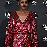 When She Channeled Her Us Character For a Fabulous Look at the Movie's London Screening